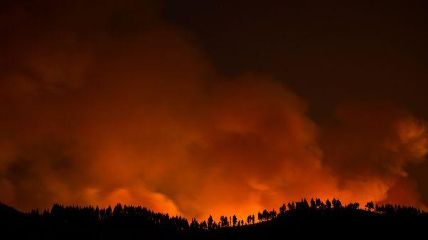 Grande Canarie en proie à un incendie  hors de contrôle