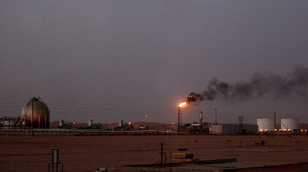 تاسیسات نفتی شرکت آرامکو عربستان