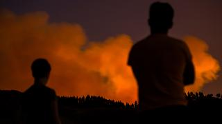Tovább tombol az erdőtűz a Kanári-szigeteken