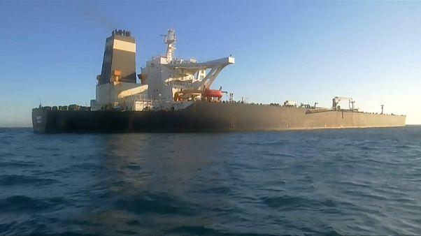 ناقة النفط الإيرانية المحتجزة في جبل طارق
