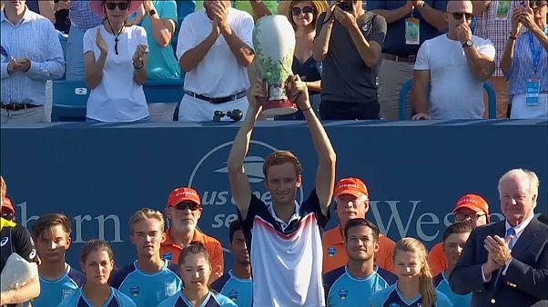 Daniil Medvedev conquista Cincinnati Masters