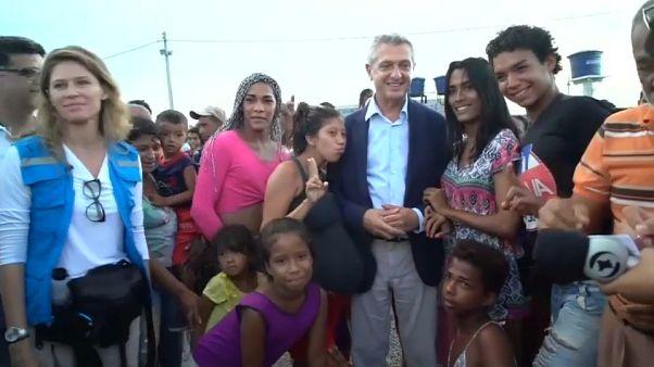 La ONU pide más ayuda para los refugiados venezolanos