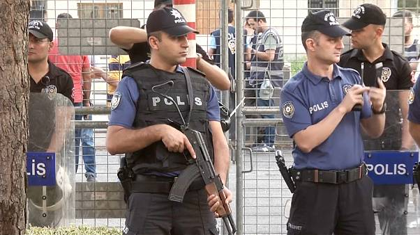 Массовые аресты в Турции