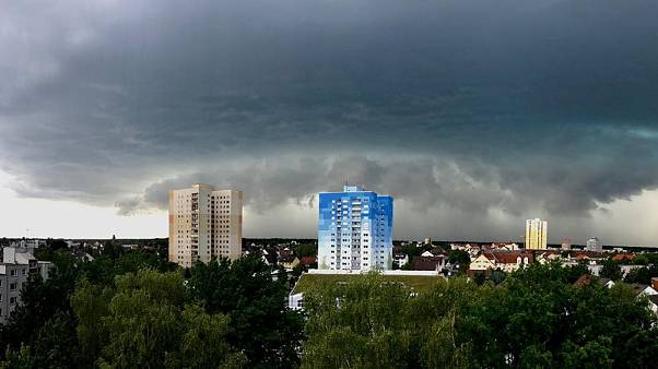Sturmwolken in Hessen