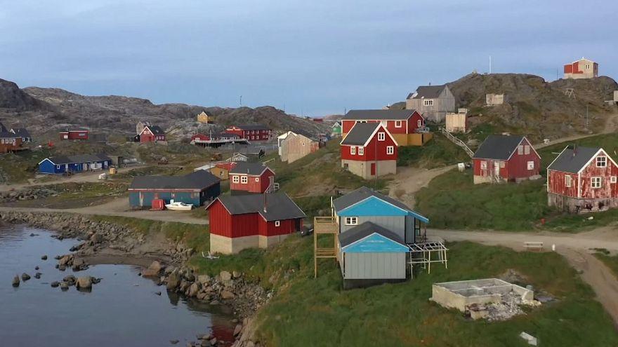 جزیره گرینلند، تصویر از ویدیوی رویترز