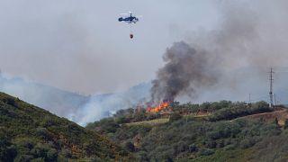إستمرار الحرائق في جزر الكناري الإسبانية