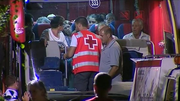 Solidaridad con los 9000 evacuados por el incendio en Gran Canaria