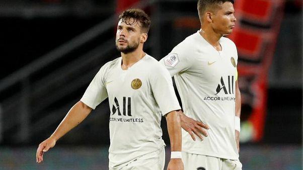 La delusione di Bernat e Thiago Silva: è lo stato d'animo di tutto il PSG.