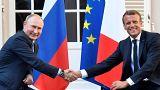 Macron e Putin otimistas relativamente ao futuro da Ucrânia
