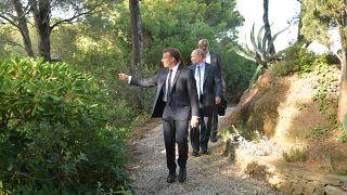 Macron-Putyin találkozó a G7-csúcs előtt
