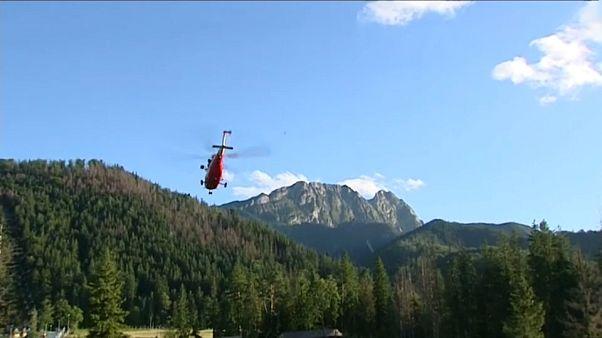 Спасательная операция в польских Татрах
