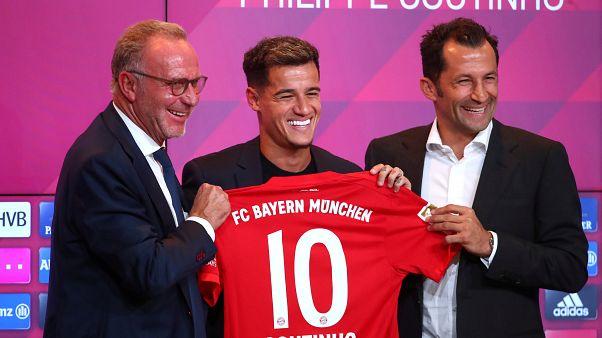 Coutinho ist jetzt die Nummer 10 bei den Bayern
