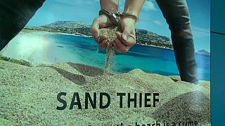 Szardínia: hat év börtönbűntetés homok lopásért