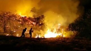 Incêndio na ilha de Gran Canária faz nove mil deslocados