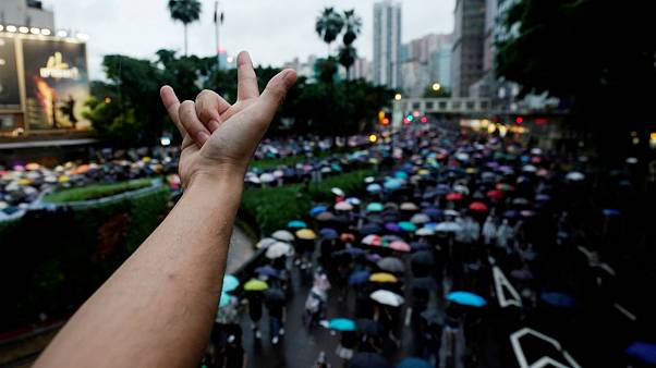 تظاهرات در هنگ کنگ