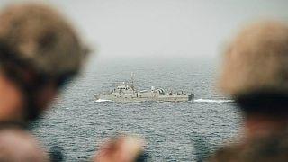 نیروهای نظامی آمریکا در خلیج فارس