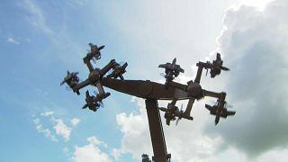 В Германии закрыли карусель-свастику