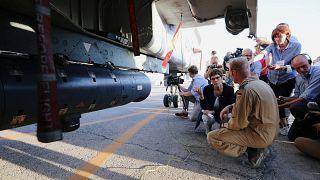 Erster Auslandseinsatz: AKK in Jordanien