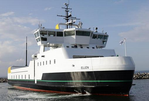 Ellen, is the world's largest all-electric ferry.