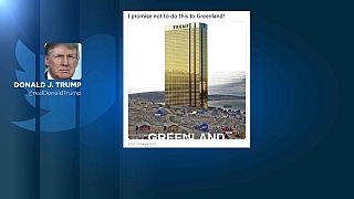 Donald Trump promete que no construiría una torre en Groenlandia