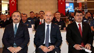 Bakan Soylu: Halkın helal oylarıyla terörü belediyelerde merkez haline getirenlere sessiz kalamayız