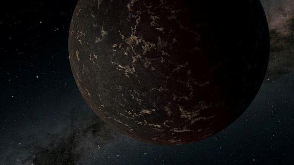 رسم تصوري لكوكب إل.إتش.إس 3488بي. ناسا / رويترز