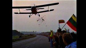 """""""Балтийский путь"""": запретный полет, который вошел в историю"""