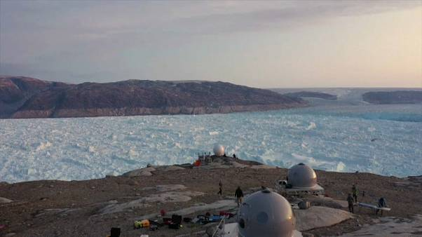 Greenland's Helheim Glacier has melted 10 kilometres over the last six years.