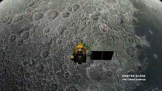Индия вывела на орбиту Луны космическую станцию