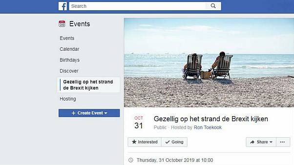 Dutch Facebook user invites people to watch Brexit unfold from beach