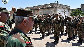Nyerésre állnak a kormányerők Szíriában