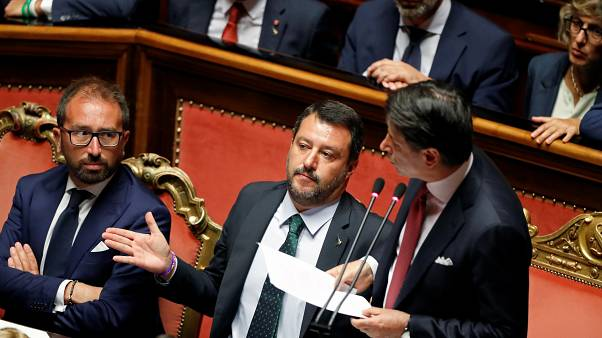 Gegenangriff Salvinis: Conte hatte ihn für das Aus der Regierung verantwortlich gemacht