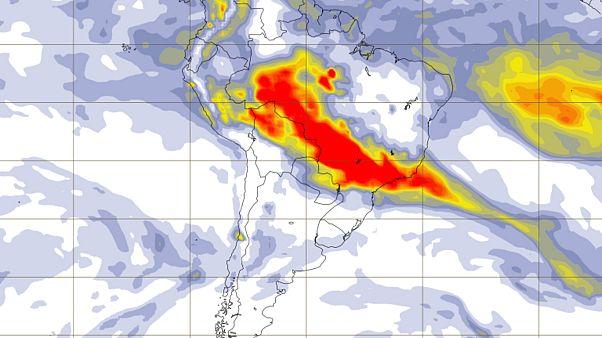 Los incendios en el Amazonas aumentan un 82% en comparación con el mismo período de 2018