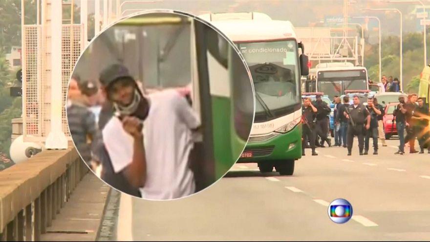 Захват заложников в Бразилии