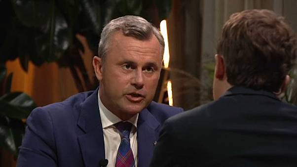 Norbert Hofer az ORF-nek adott interjújában
