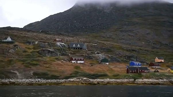 منظر عام من جزيرة غرينلاند