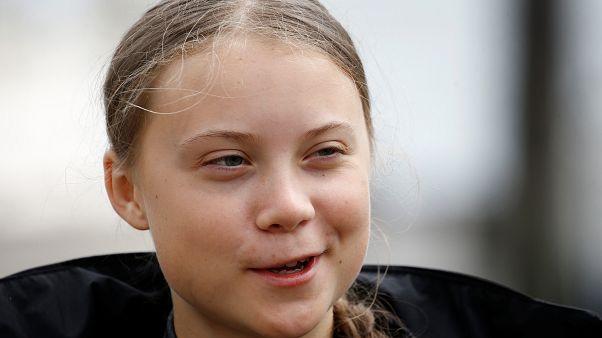 La activista por el clima, Greta Thunberg