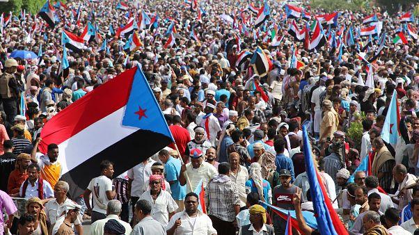 مظاهرة للانفصاليين في عدن