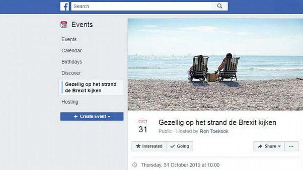 Public Viewing: Facebook-Nutzer lädt Menschen ein, Brexit vom Strand aus zu beobachten