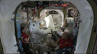 Watch: NASA astronauts conduct ISS spacewalk