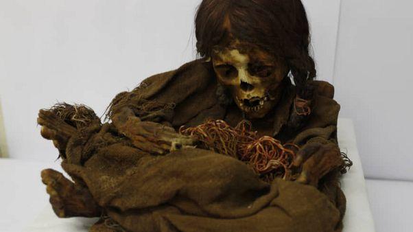 Visszakapta Bolívia a titokzatos inka lány múmiáját