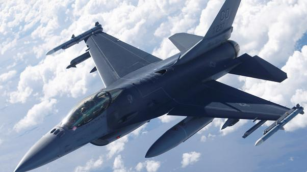 Πτώση βελγικού F-16 στη Γαλλία