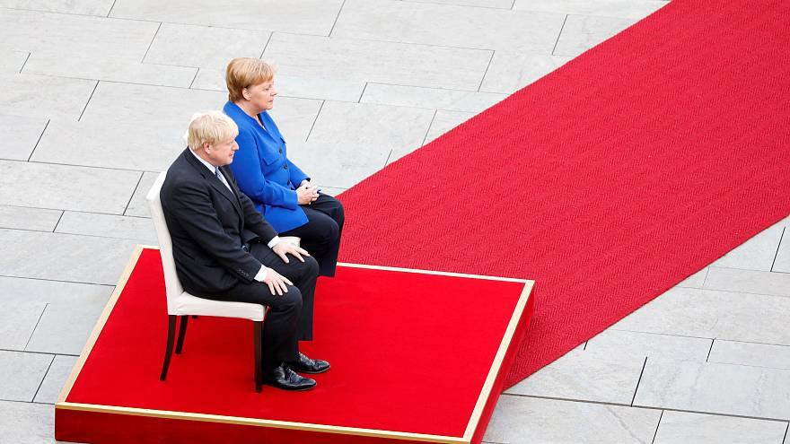 Watch: Merkel sees 'possibilities' for Brexit compromise with Johnson