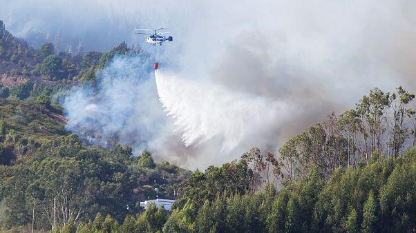 شاهد: إخماد حرائق جزر الكناري بعد خمسة أيام من تأججها