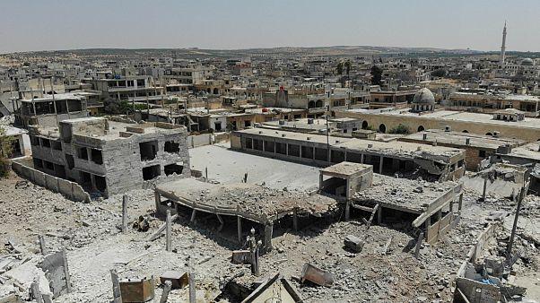 دیدهبان حقوق بشر سوریه: نیروهای دولتی کنترل کامل خان شیخون را در دست دارند