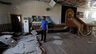 موقع انفجار بمخزن تابع لإحدى الفصائل العراقية