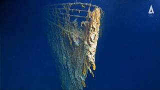 Szép lassan lebomlik a Titanic roncsa