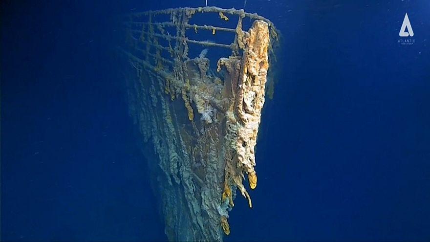 تصاویر جدید از عمق اقیانوس؛ کشتی غرق شده تایتانیک در حال نابودی کامل