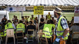 G7 zirvesinde küreselleşme karşıtlarının protestolarına Sarı Yelekliler de katılacak