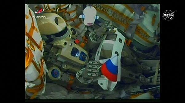 Fiodor, robot-cosmonaute dans l'ISS